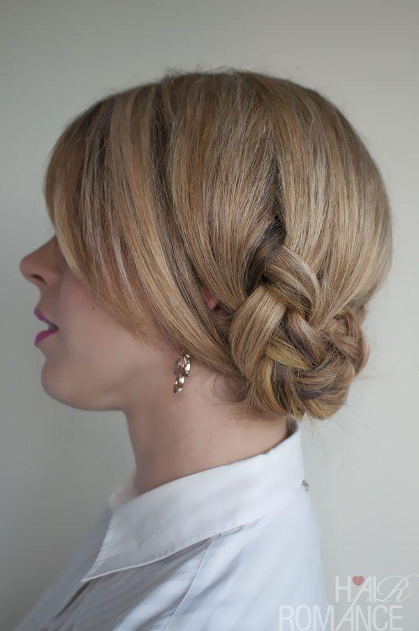 Twist braid.