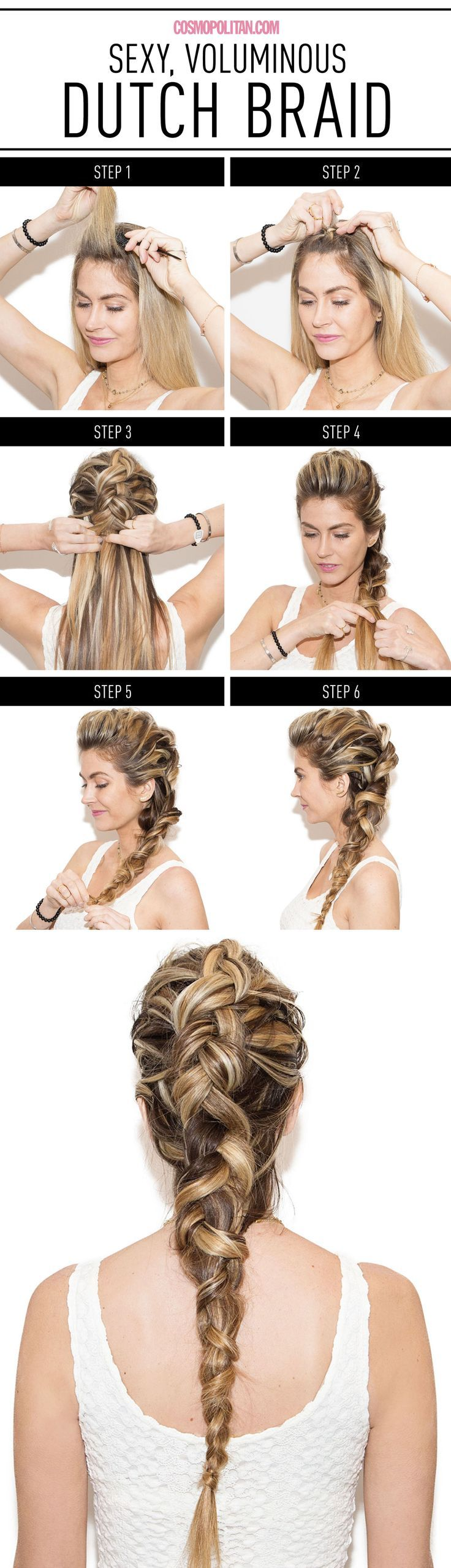 Your New Favorite Braid Will Make You Look So Hot / Cosmopolitan