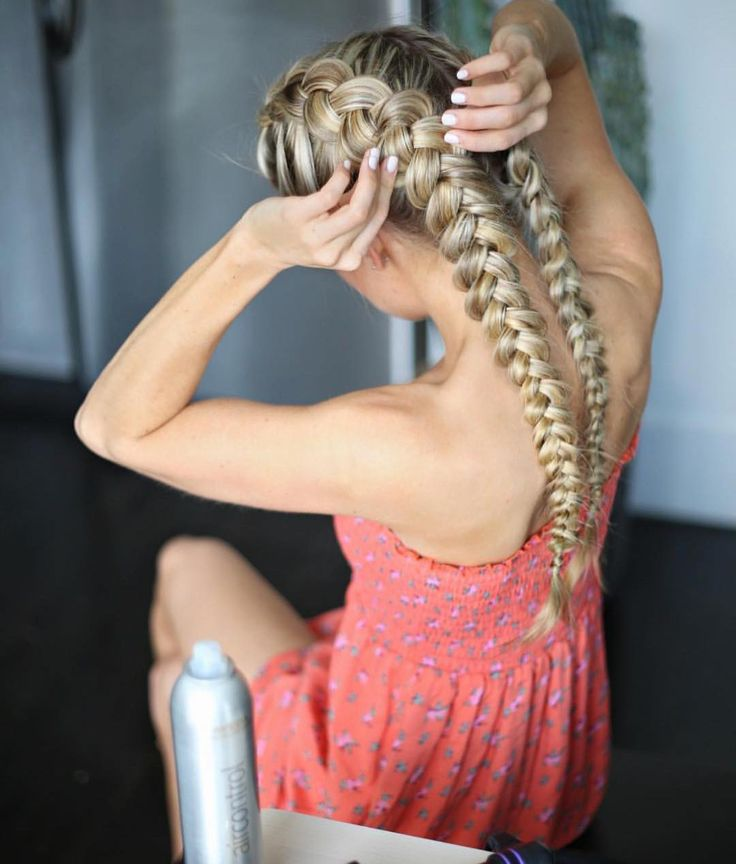 """Yup - TORY (Tory) on Instagram: """"Braids on braids  Perfect for a summer hairst..."""