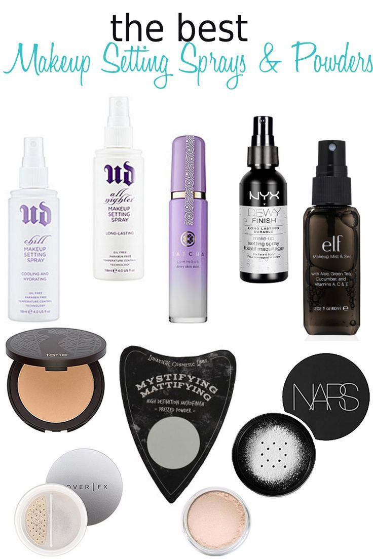 10 Best Makeup Setting Sprays and Powders. There are sprays to meld your makeup ...