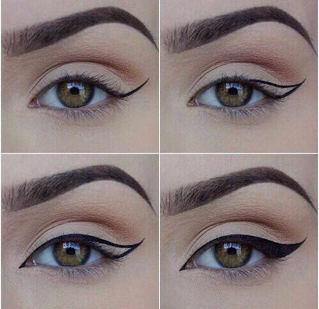 11tips for drawing flawless eyeliner arrows...