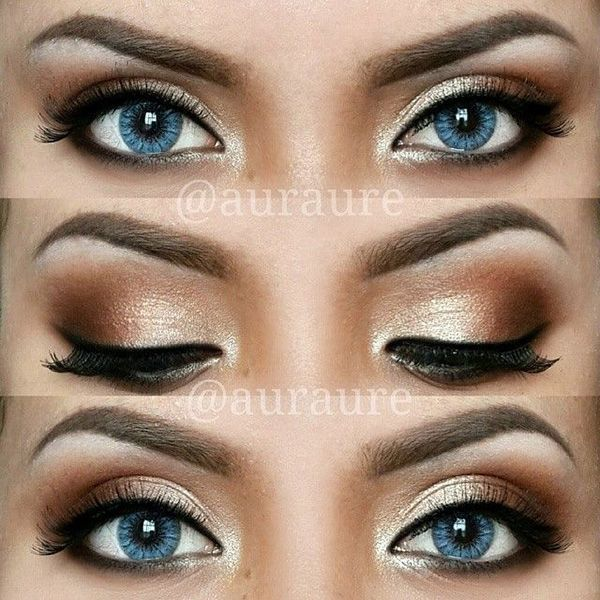 12 Pretty and Easy Ideas For Prom Makeup For Blue Eyes...