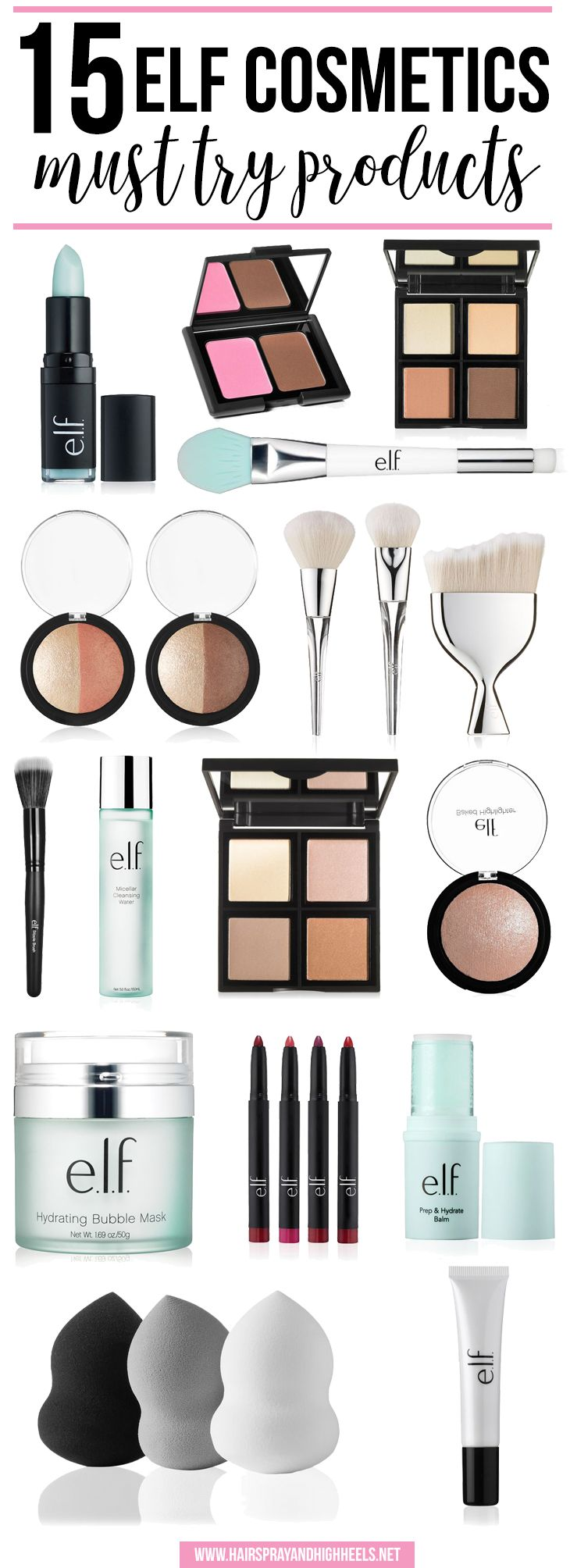 15 Elf Cosmetics Must Try Products! Elf is an affordable brand, with awesome pro...
