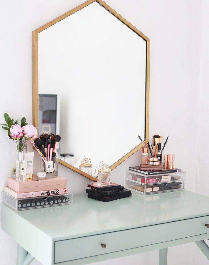 17 gorgeous makeup storage ideas | beauty | vanity organization ideas | Reuse ca...