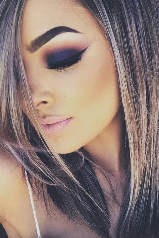 21 Sexy Smokey Eye Makeup Ideas to Help You Catch His Attention ★ See more: gl...