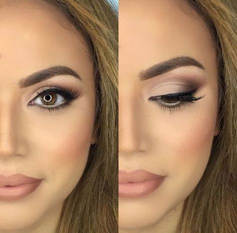 30 Wedding Makeup Ideas for Brides - Bridal Glam - Romantic make up ideas for th...