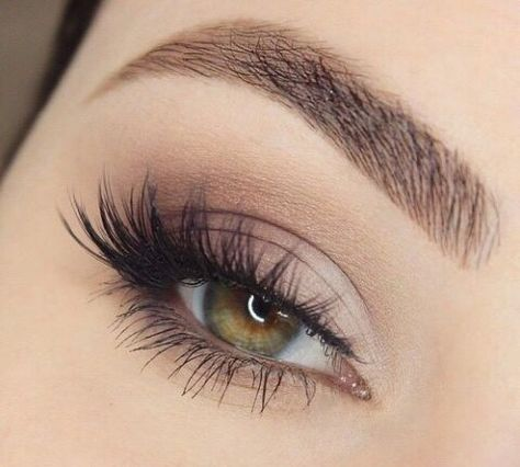A natural looking false lash look to recreate yourself or ask your wedding day m...