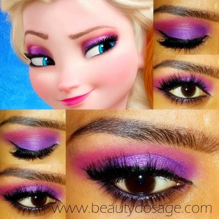 Beauty Dosage: The blog for Makeup and Beauty!: Elsa from Frozen Eye makeup Tuto...
