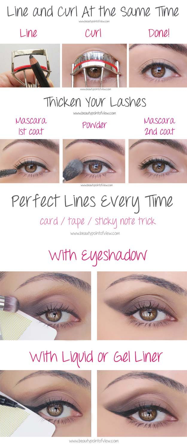 Beauty Hacks for Teens - Eye Makeup Tricks – Must Know - DIY Makeup Tips and H...