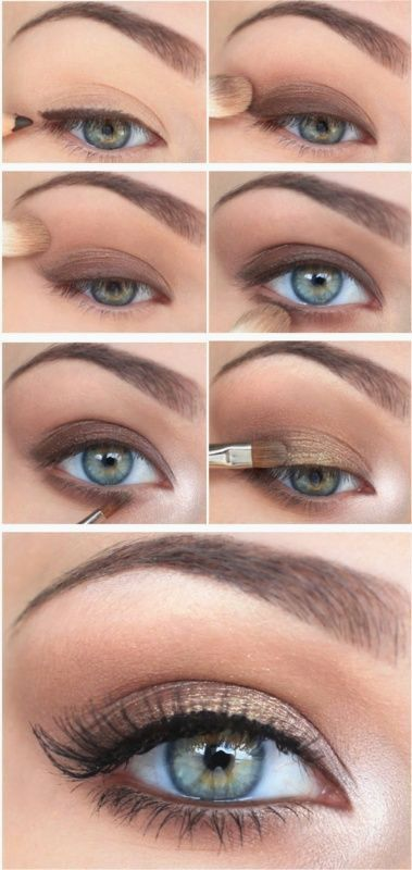 Beginner's Smokey Eye Tutorial | Love the glow on the inner corners, it real...