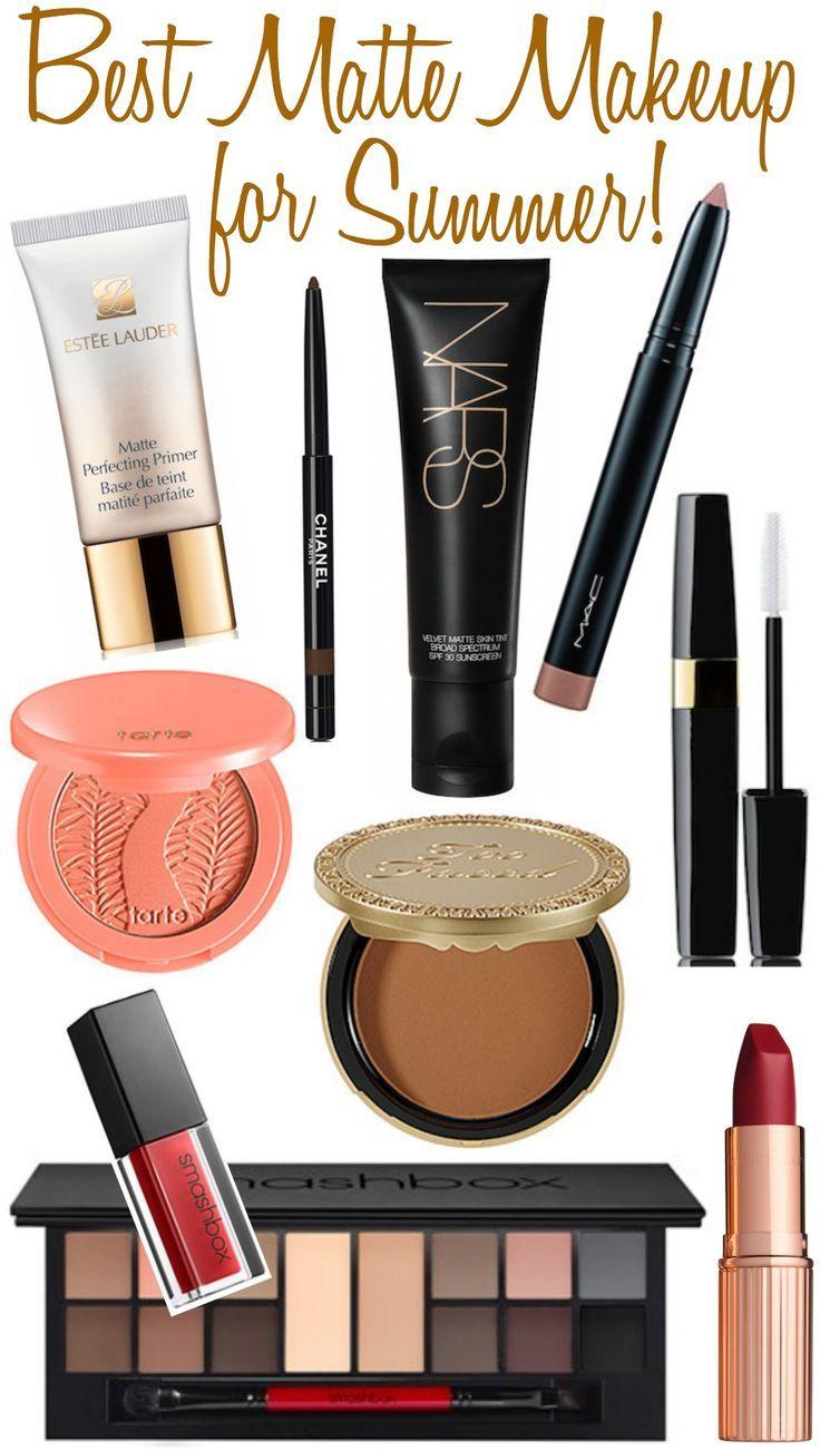Best Matte Makeup for Summer!...