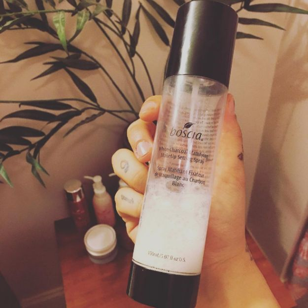 Boscia's White Charcoal Mattifying Makeup Setting Spray for $38. | 21 Makeup P...