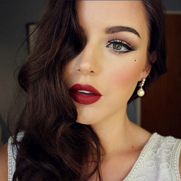 Create An Old Hollywood Beauty Look With This Makeup Tutorial - From Real Style ...