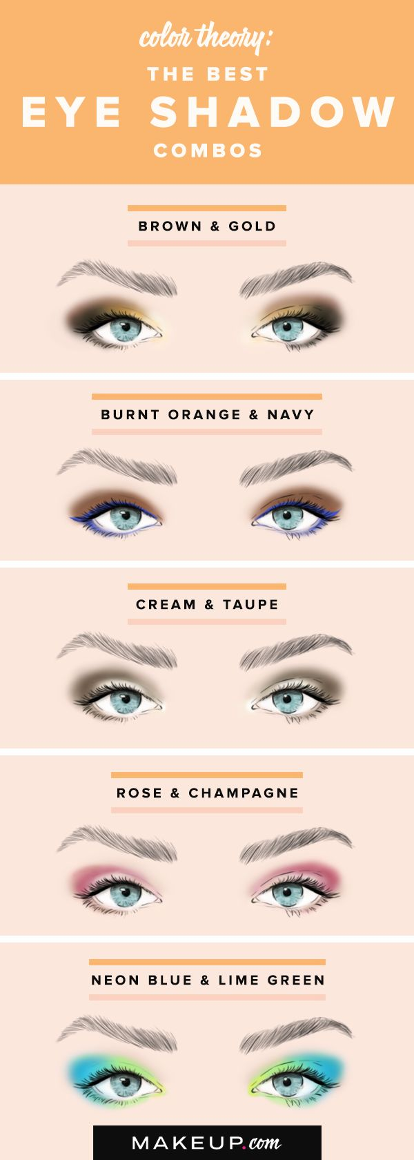 Doing pretty eye shadow doesn't have to be complicated, especially when you ...