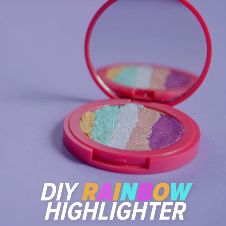 Dreaming of the rainbow highlighter from Bitter Lace Beauty but not enough to pu...