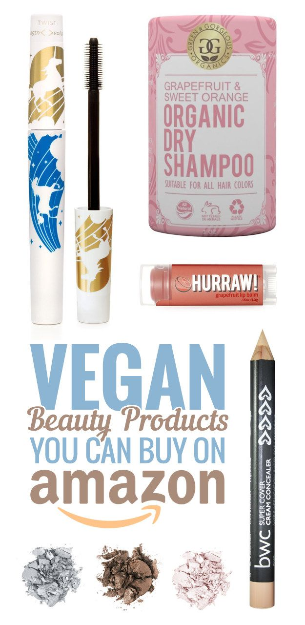 Everyone's favorite online retailer has a wide variety of cruelty free, orga...