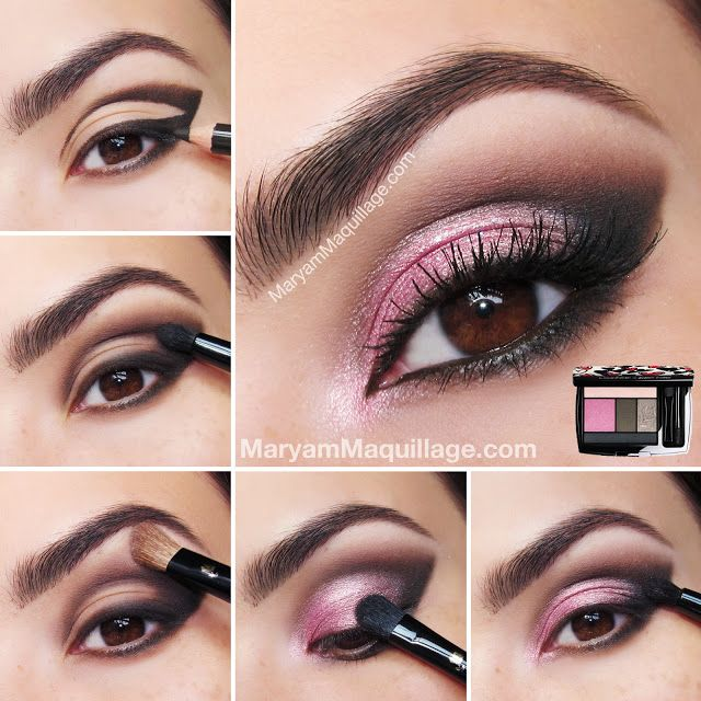 eye makeup tutorial what brushes to use | rose_coquette_smokey eye makeup tutori...