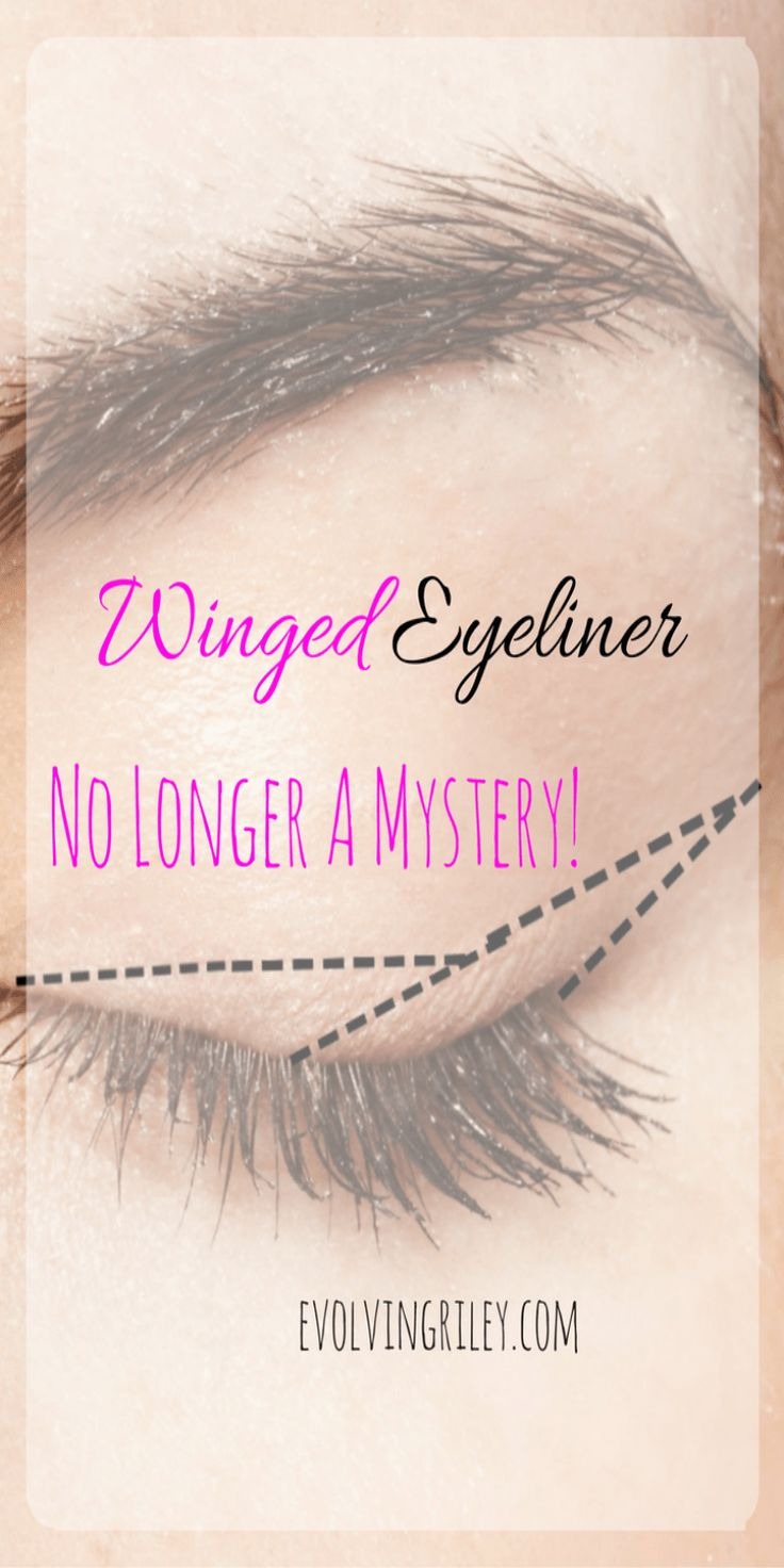 Eyeliner was a mystery to me for a long time. I had serious eyeliner envy! when ...