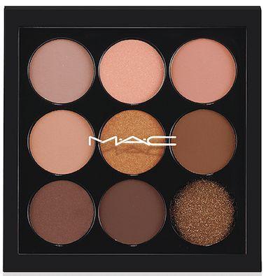 Eyes on MAC Eyeshadow X9 Palette in Amber