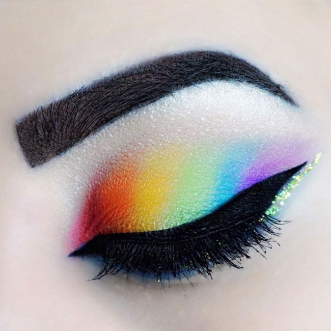 Eyeshadow We're huge fans of Jae M.beautyblog's gorgeous rainbow eyeshad...