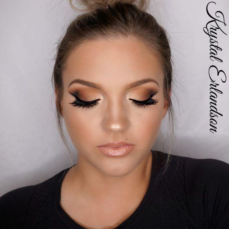 Gradiant Brown Smokey Eye Makeup Tutorial by Krystal Erlandson. Makeup Geek Eyes...