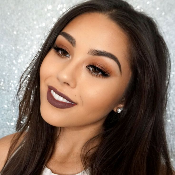 Great look for Fall! I used Makeup Geek Creme Brûlée and Latte in the crease w...
