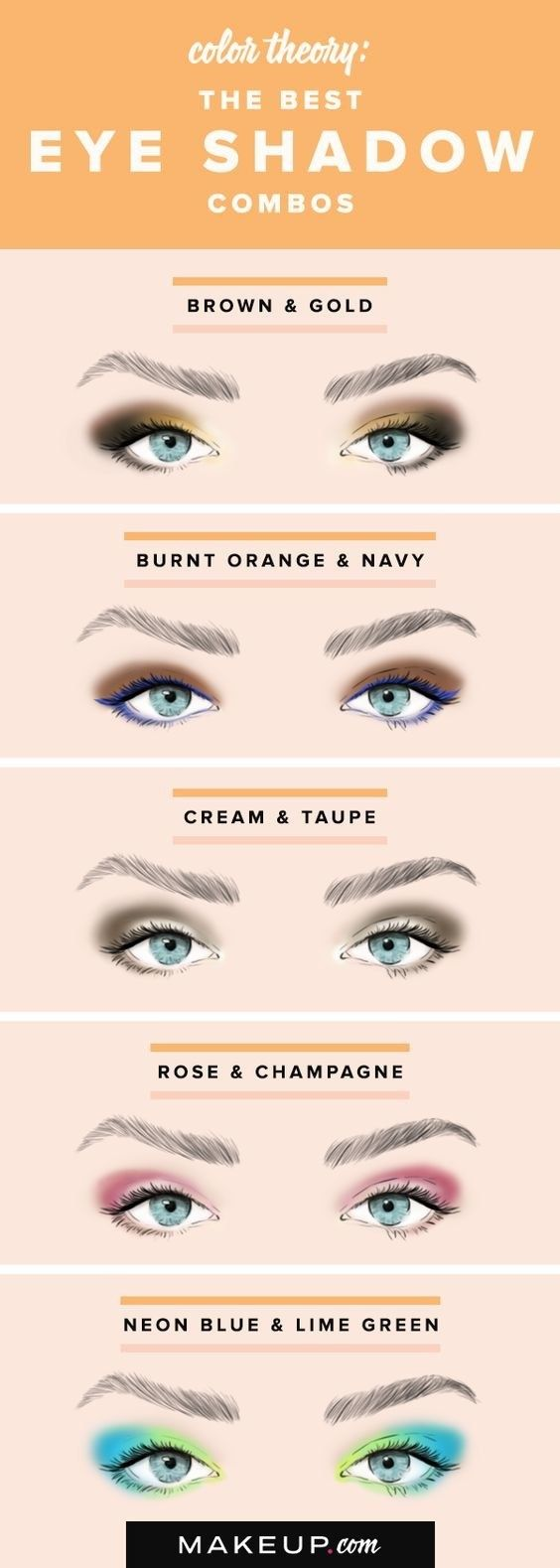 Here's a color combo chart is great if you need a little inspiration. | 18 Eye...