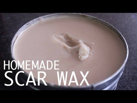 Homemade Scar Wax w/ Bee Wax and Vaseline | FX Product - YouTube...