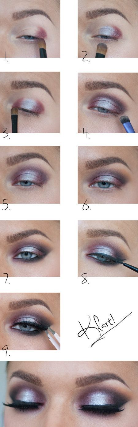 I love this ombre eyeshadow look! It's something I'd never have the pati...