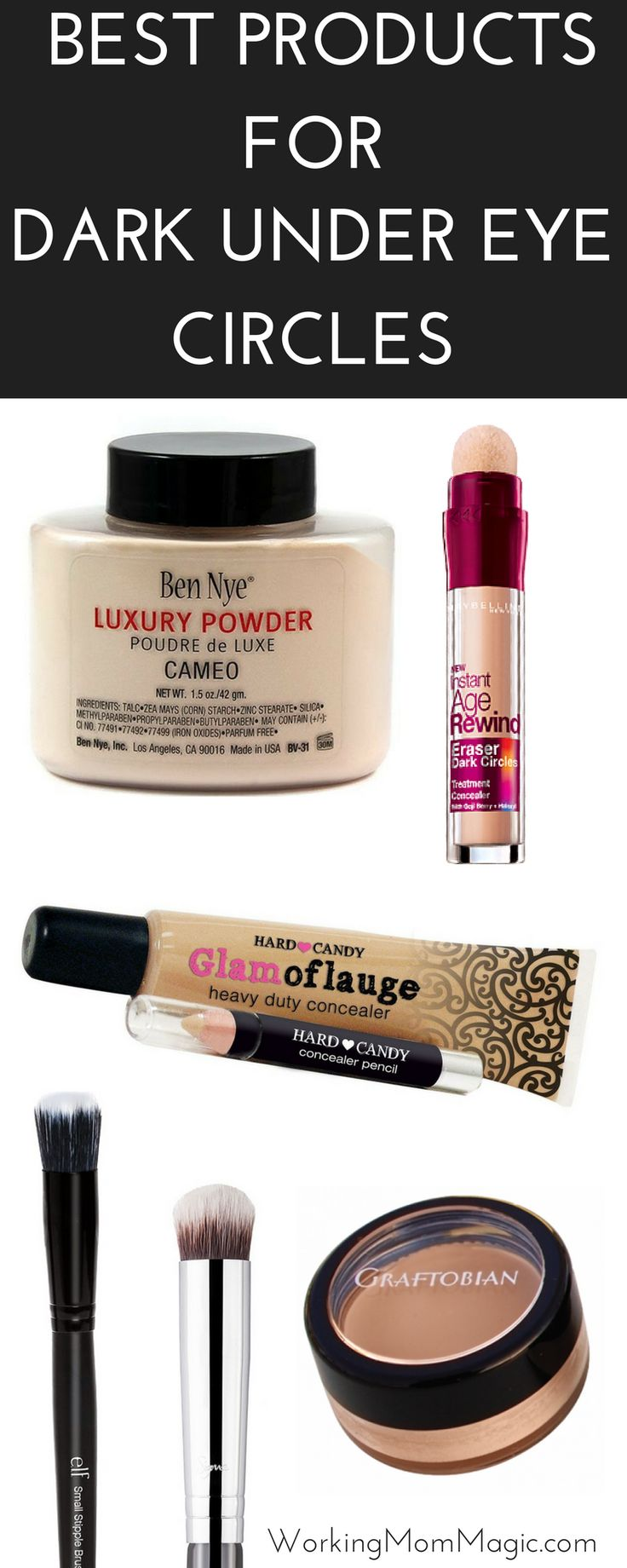 If you have DARK under eye circles you are not alone! I have tried EVERYTHING an...