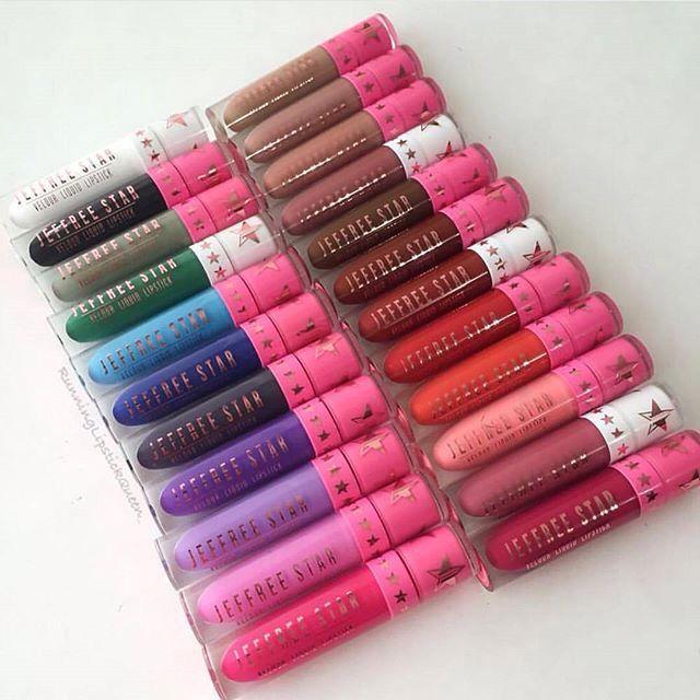 Jeffree Starr Velour liquid lipsticks are my latest obsession!