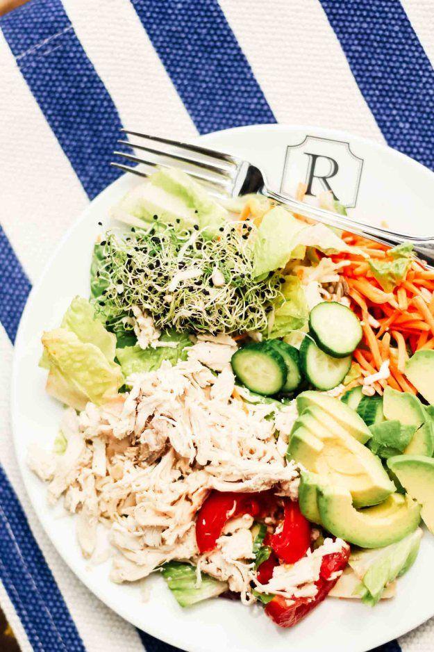 kardashian salad recipe