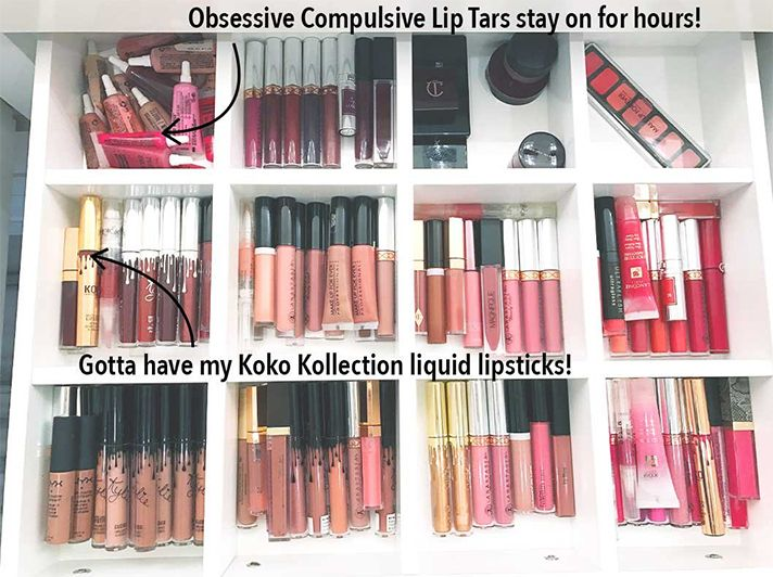 Khloe Kardashians Makeup Storage Organization is Our Actual Dream...