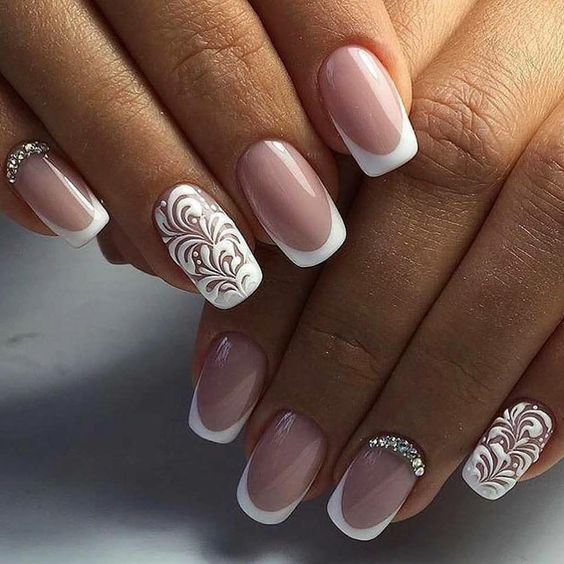 Makeup Ideas 2017 2018 Lace Style Awesome Wedding Nails