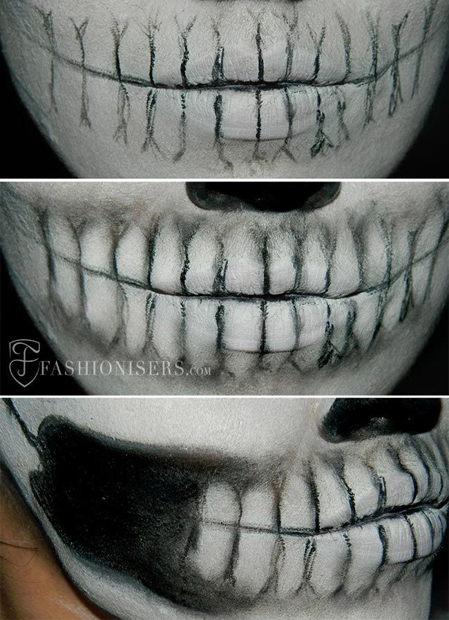 lady gaga inspired halloween skull makeup tutorial halloween halloweenmakeup