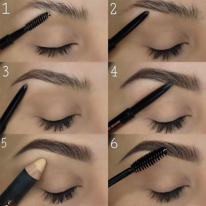 Learn here how to fill in eyebrows professionally. Forget once for all about asy...