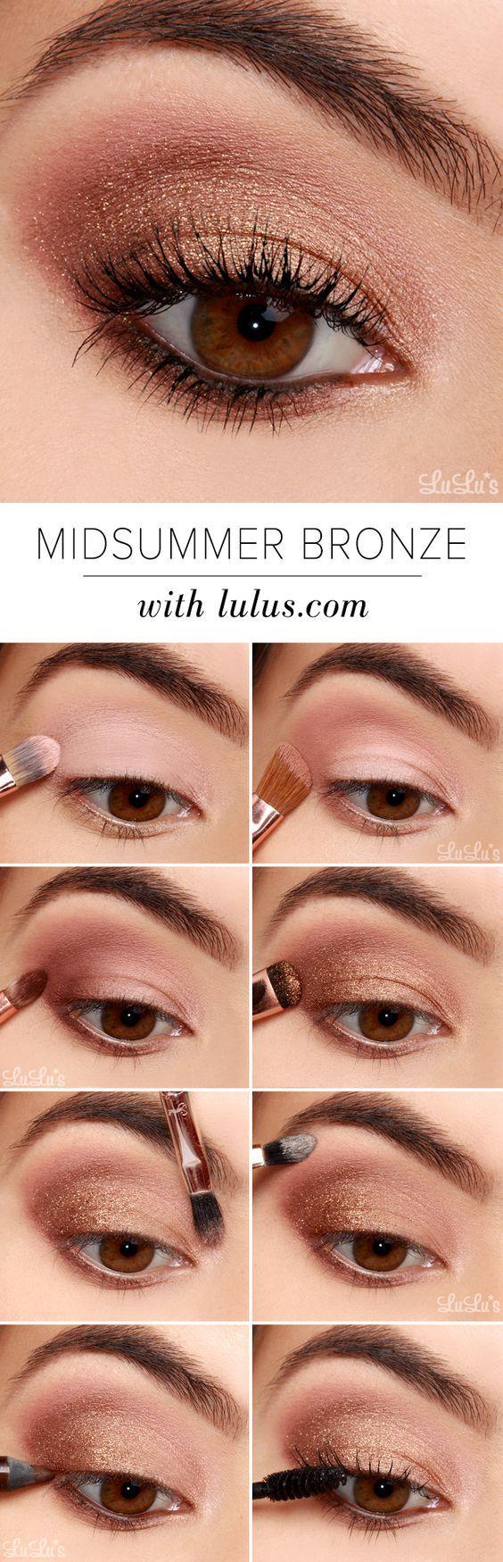 Lulu * s Cómo hacer: San Juan de bronce de sombra de ojos Tutorial con Sigma!  ...