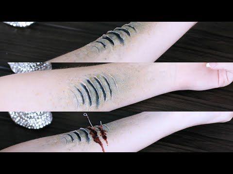 Madeyewlook, YouTube | Mermaid gills