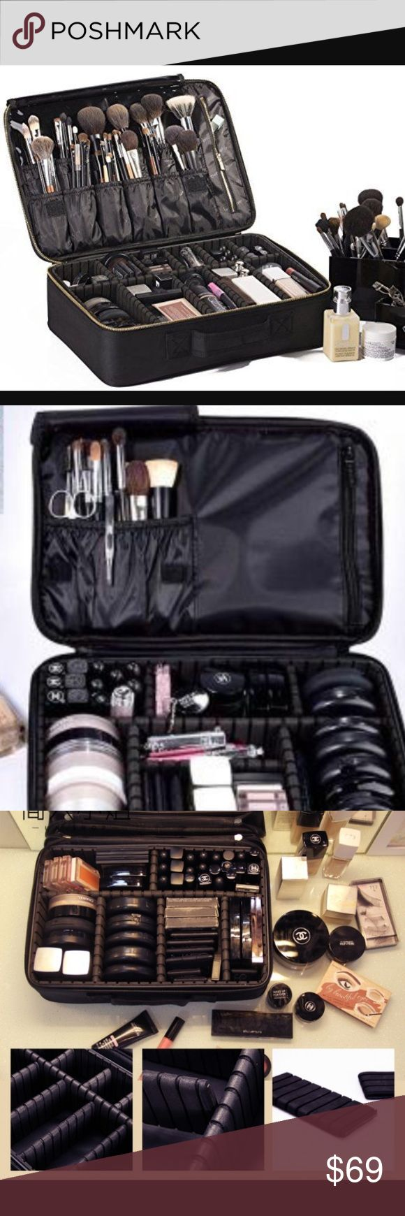 Makeup bag/ great for organization or travel Are you OCD- with being clean and o...