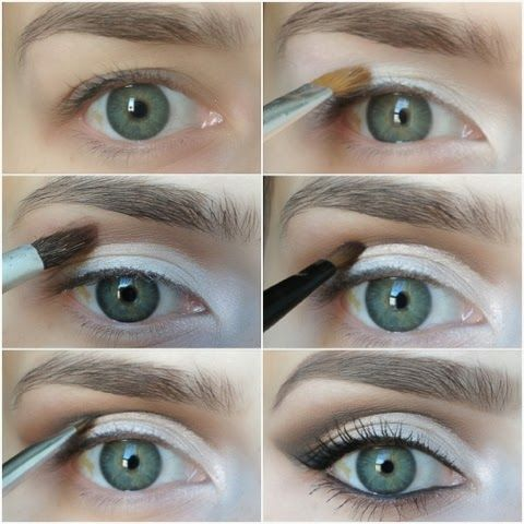 Makeup for hooded eyes- this blog has tons of great make-up tutorials!