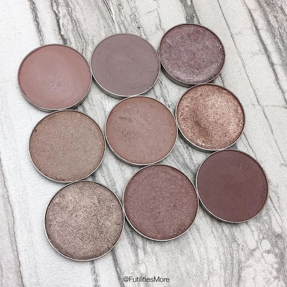Makeup Geek Taupe eyeshadows pictures and swatches...