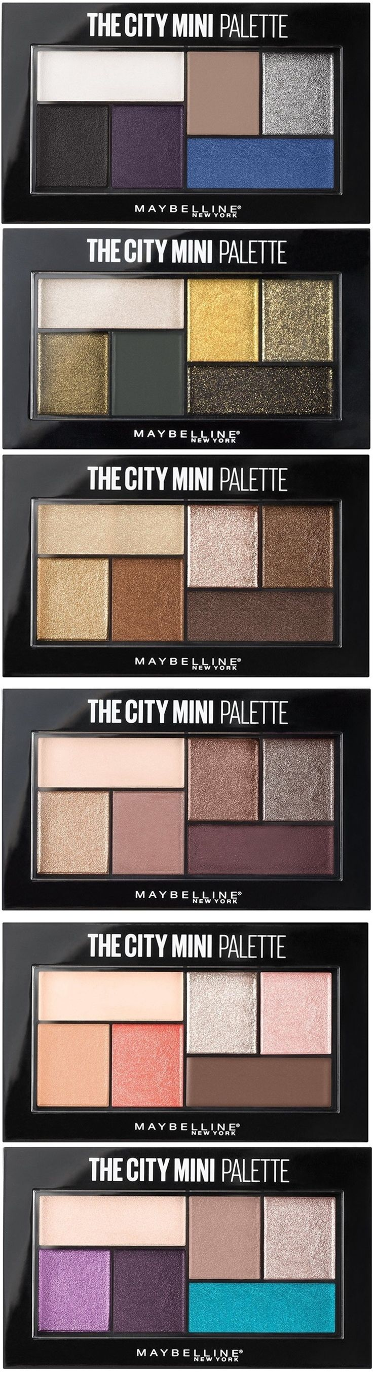 Maybelline's New $7.99 The City Mini Palette...