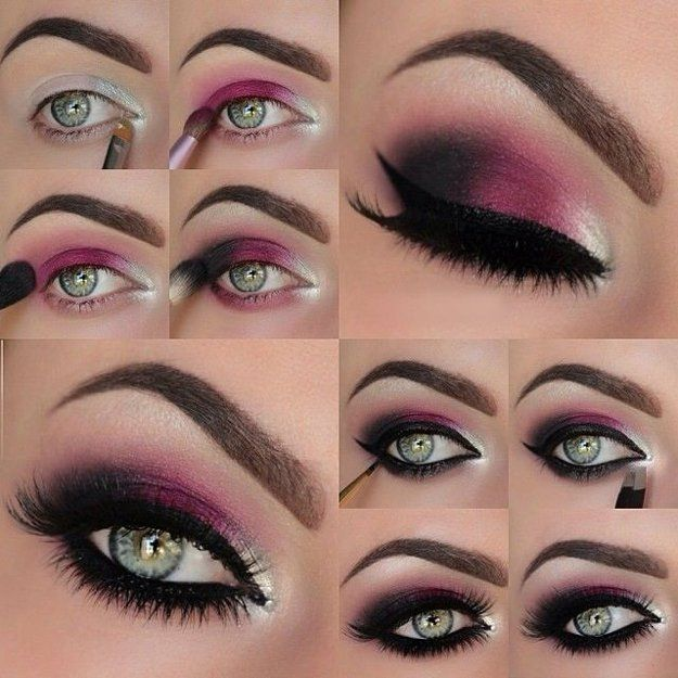 Red Eyeshadow | Colorful Eyeshadow Tutorials | Makeup Tutorials...