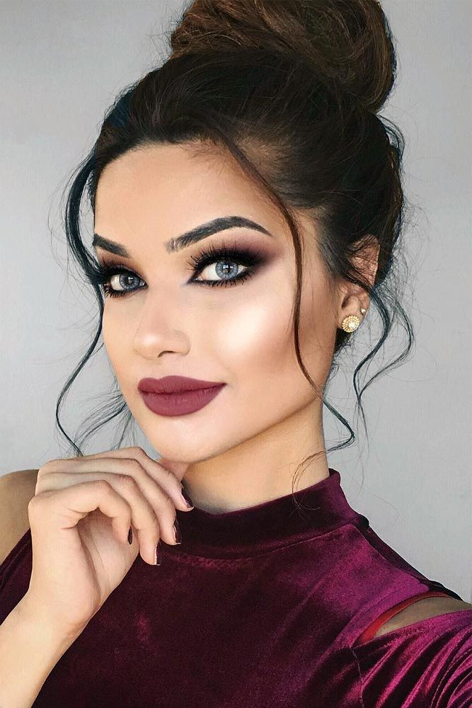 Romantic Hair and Makeup Ideas to Try This Valentines Day ★ See more: glaminat...