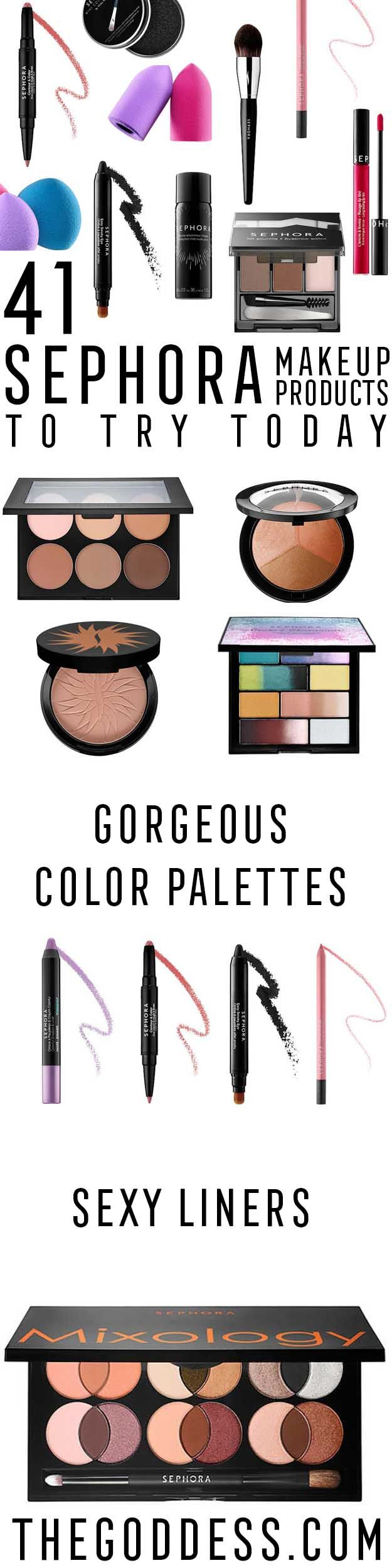 Sephora Makeup Products To Try Today - These Are The Best Sephora Makeup Product...
