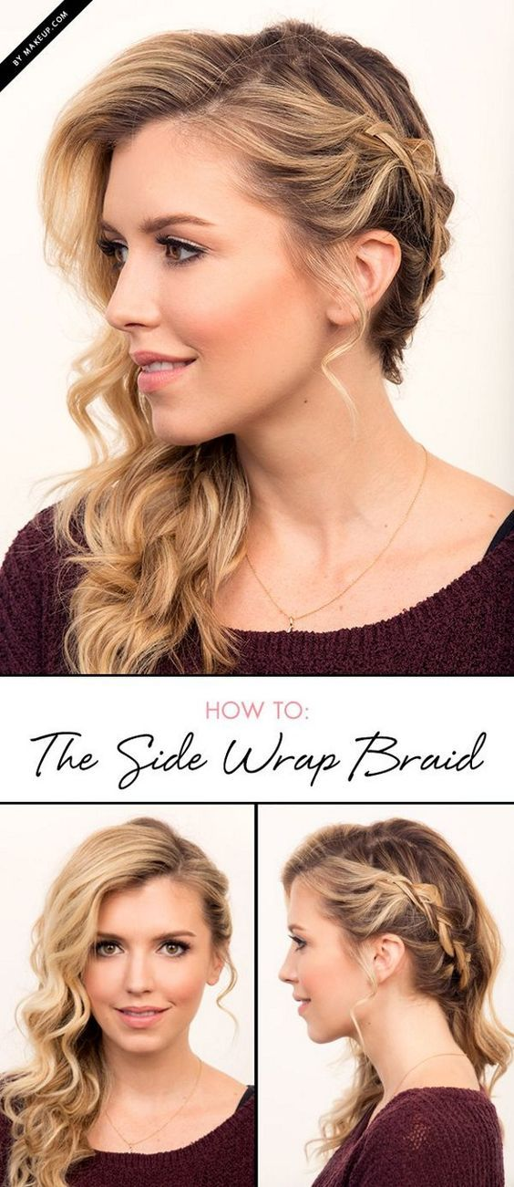 Sexy Braids for Side Swept Hair Tutorial | DIY Tips by Makeup Tutorials at  make...