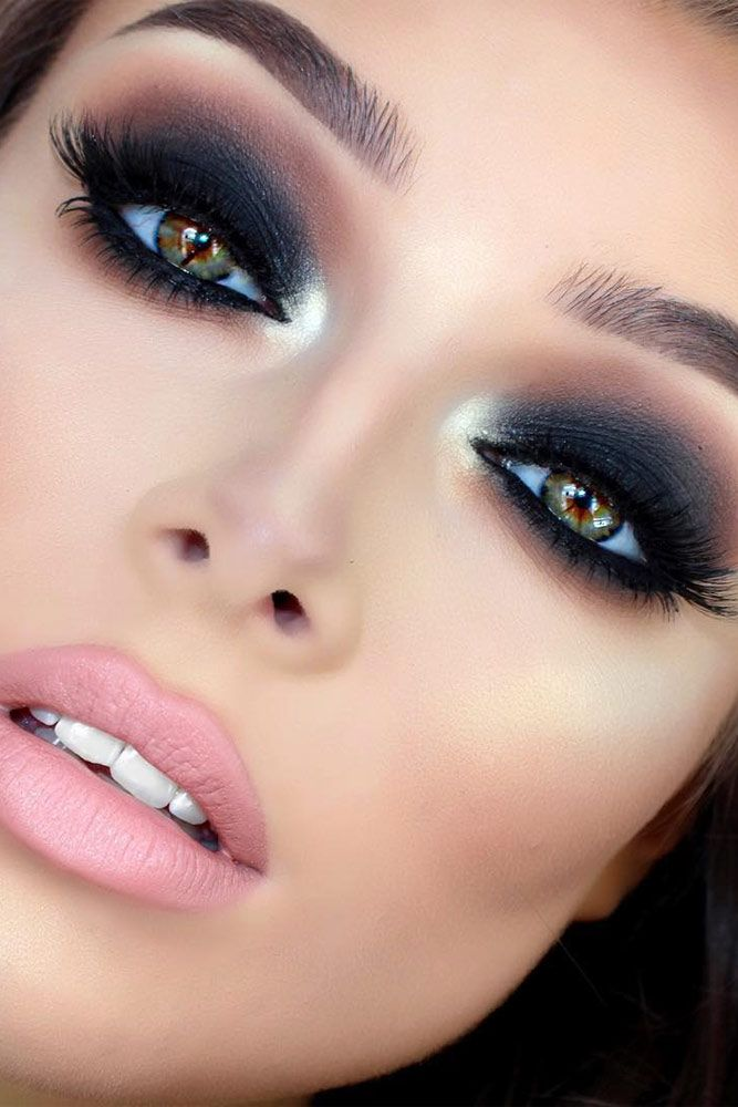 Sexy Smokey Eye Makeup Ideas to Help You Catch His Attention ★ See more: glami...