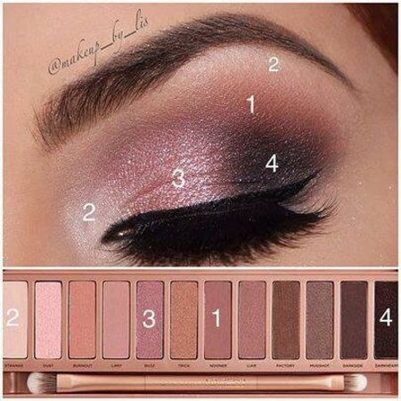 Simple to follow tutorial using Naked 3! thepageantplanet....                   ...