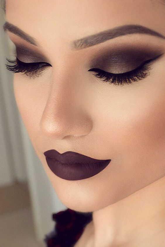 Smokey Eye makeup – Smokey Eye color ideas...