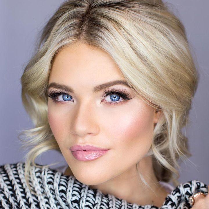 Makeup Ideas 2017 2018 Soft Smokey Eye Pink Lips Stunning